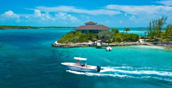 Fowl Cay Resort in the Exuma island chain