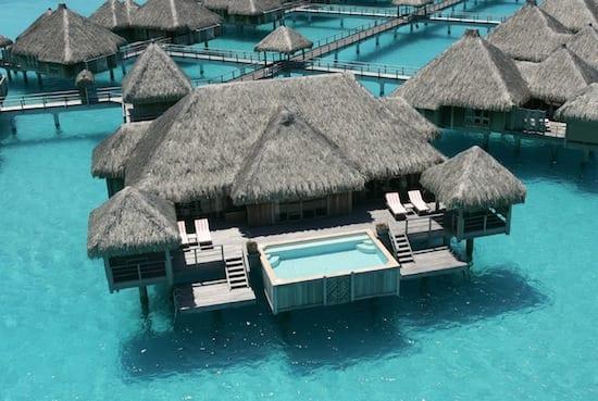 St. Regis Bora Bora - if we honeymoon here, we may never come back