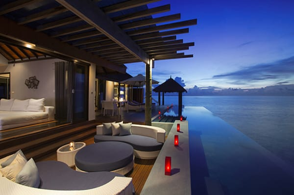 The Velassaru in the Maldives - unbelievable, right?