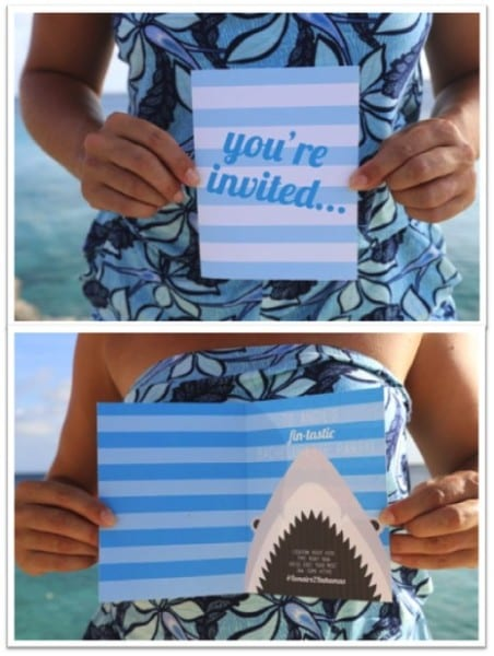 Shark Bachelorette Party Invitation