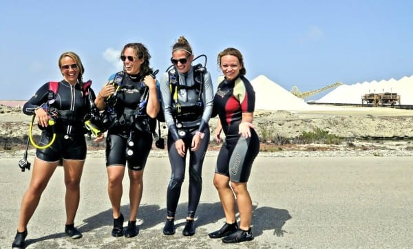 Diving at the Salt Pier - where history meets industry meets scuba