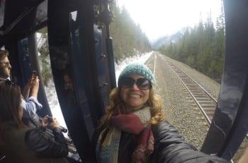 A Rocky Mountain selfie