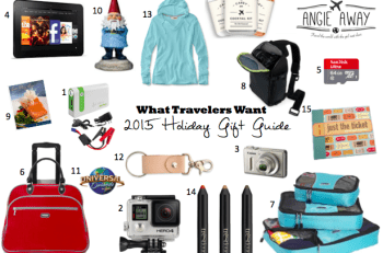 Angie Away 2015 Holiday Travel Gift Guide and Giveaway
