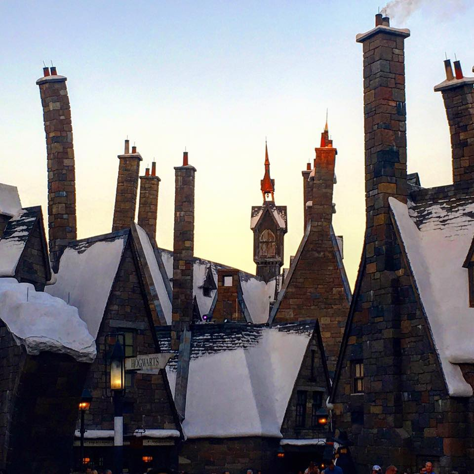 The Wizarding World of Harry Potter, my second home
