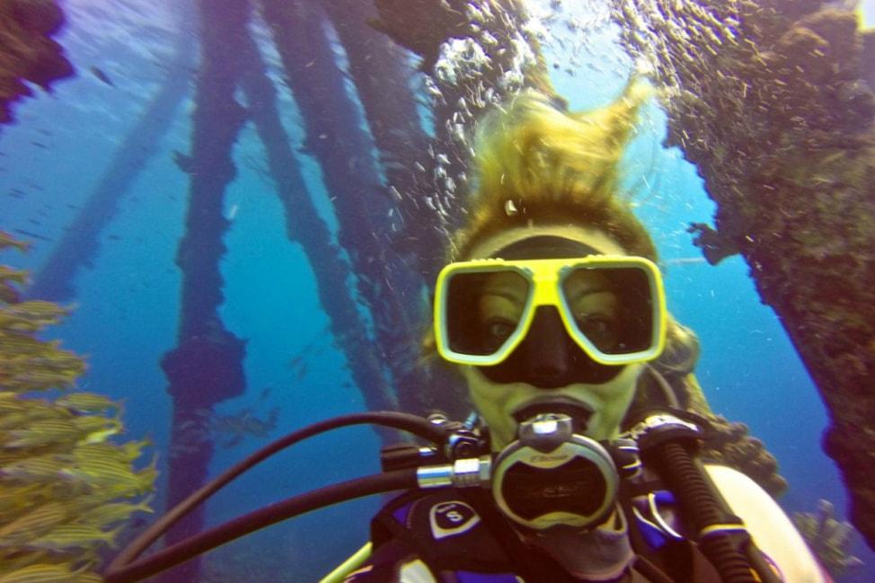 Scuba Diving Salt Pier