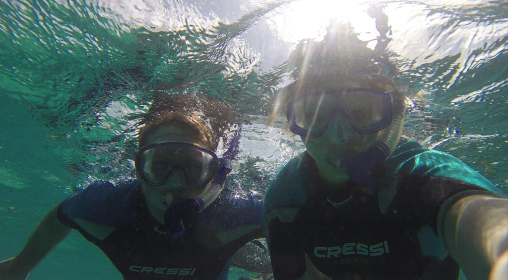 Snorkeling with Brendal
