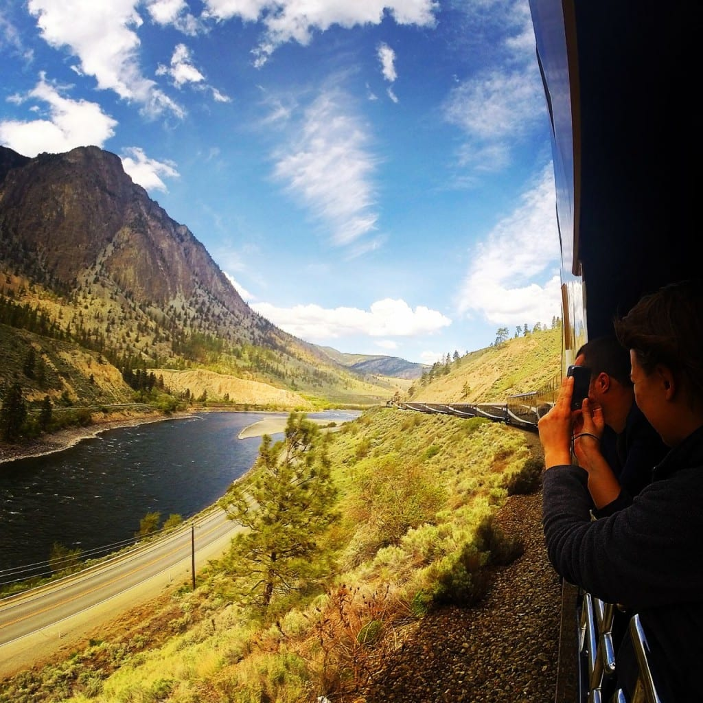 All aboard the Rocky Mountaineer!