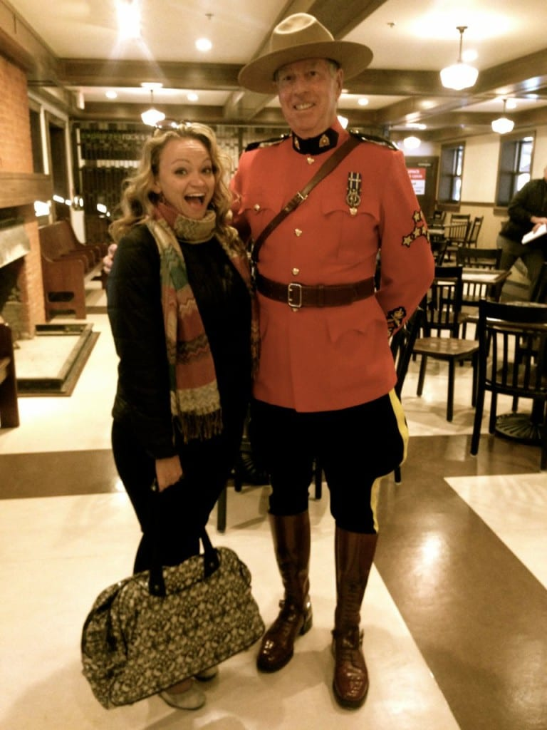 Making friends with the Canadians