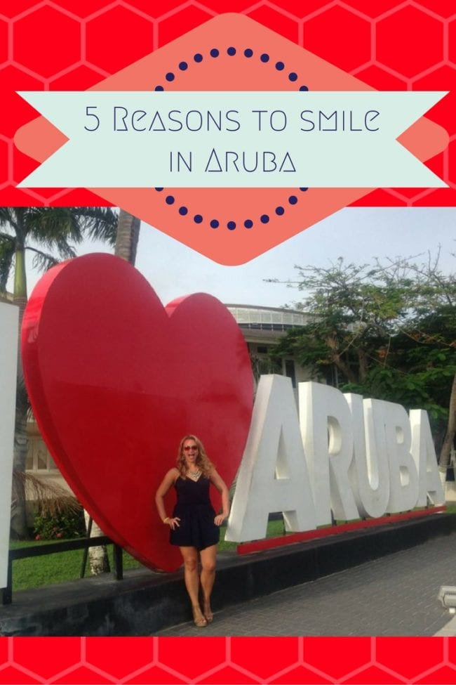5 Reasons to Smile in Aruba, One Happy Island