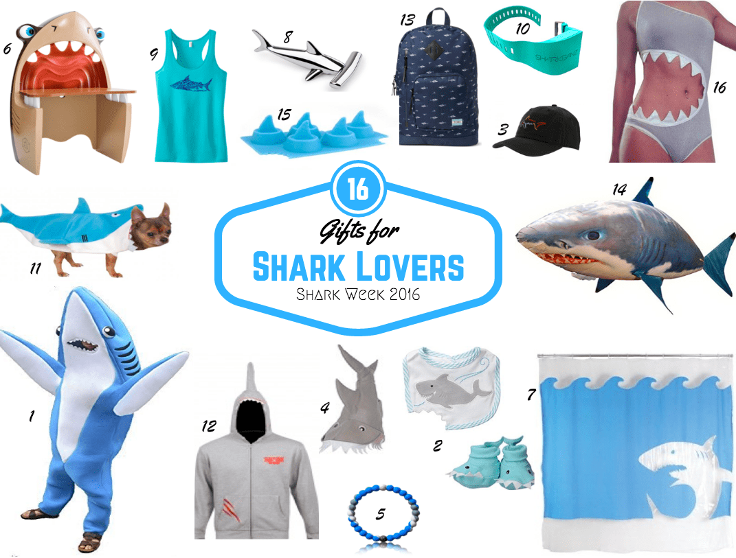 shark-lovers-gift-guide-shark-week  sc 1 st  Angie Away & 16 Gifts for the Shark Lover in your Life - Angie Away