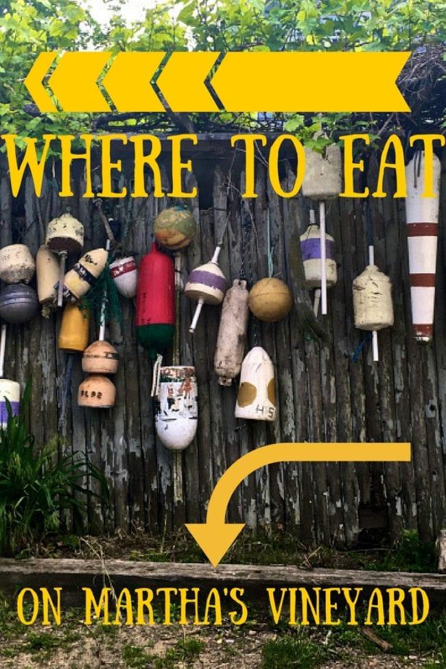 Where to Eat on Martha's Vineyard