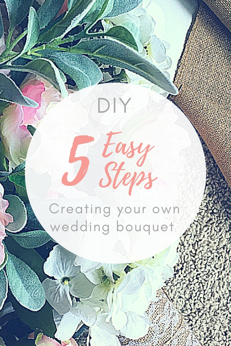How to make a fake flower wedding bouquet angie away diy wedding bouquet izmirmasajfo