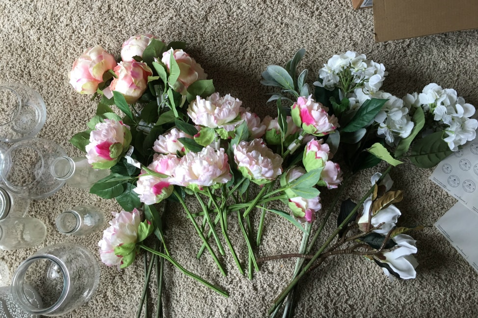 Diy Fake Flower Bouquet 1 Min