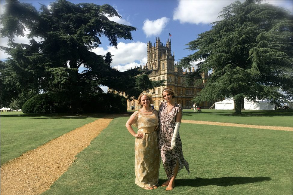 Highclere Castle Vintage Garden Party Downton Abbey 8