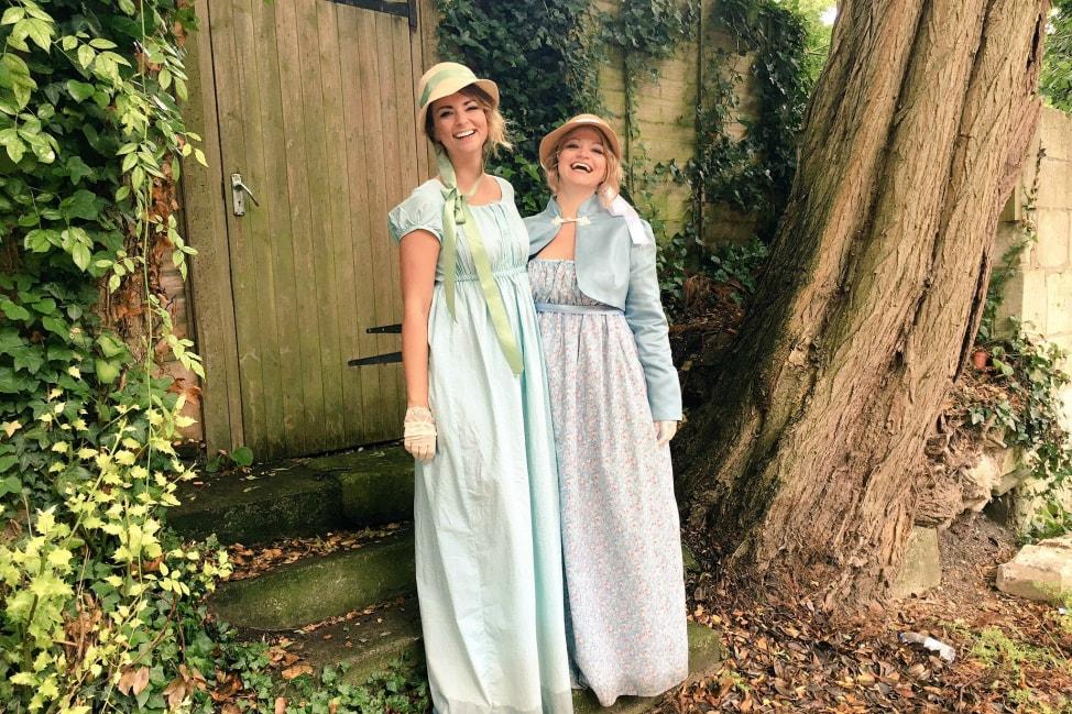 Dress-Up Travel: The Jane Austen Festival - Angie Away