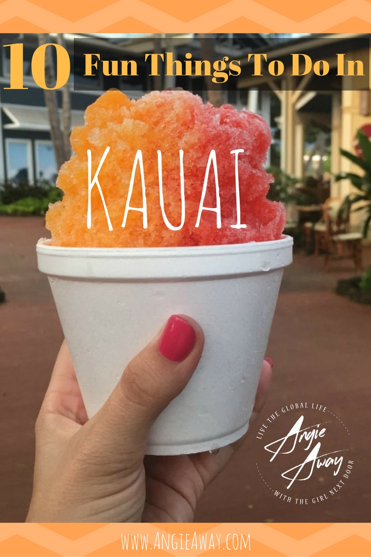 10 Things to do in Kauai