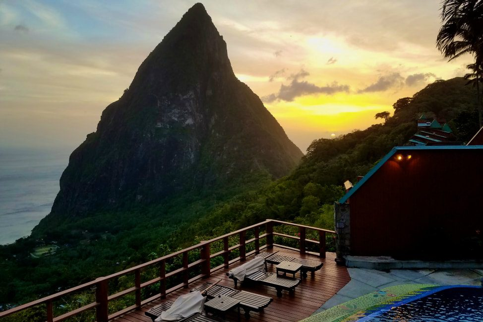Ladera Resort - Romantic Caribbean Hotel