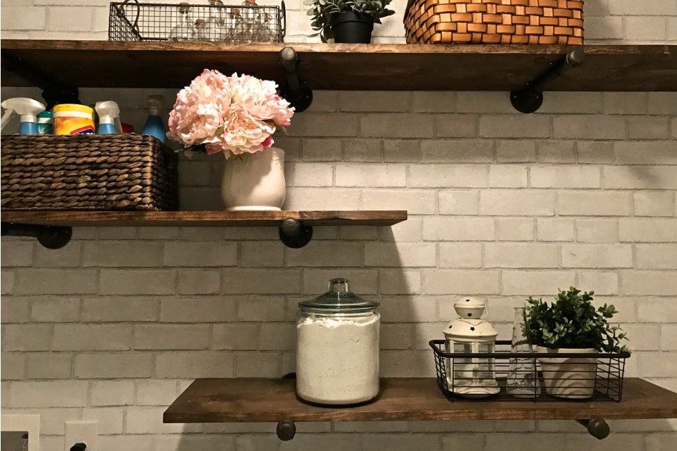 How to Makeover a Tiny Laundry Room