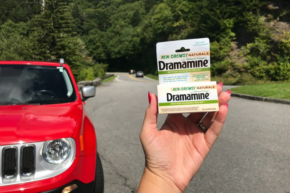 Fighting Motion Sickness with Dramamine (R) Non-Drowsy Naturals