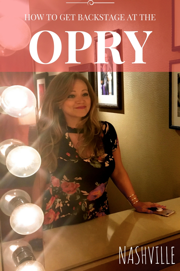 How to go backstage at the Grand Ole Opry in Nashville