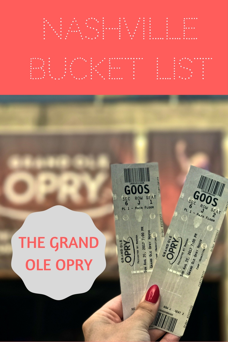 How to go backstage at the Grand Ole Opry