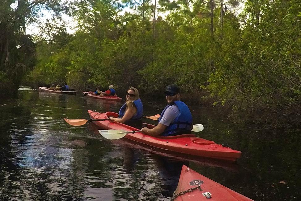 Kayaking-in-florida-space-coast