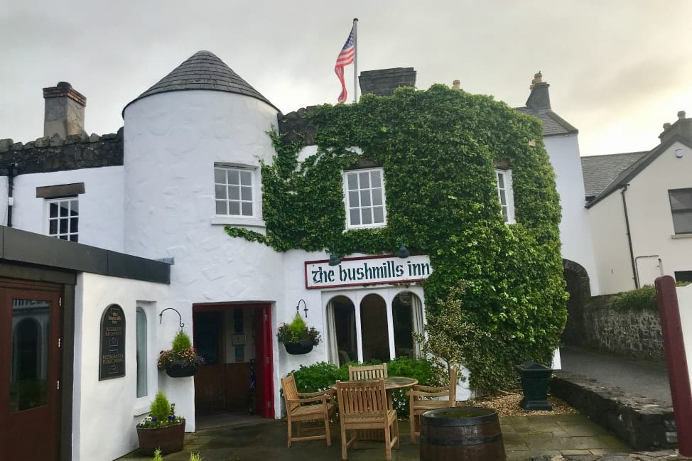 How to plan an Irish Road Trip Itinerary - Bushmills Inn, Northern Ireland
