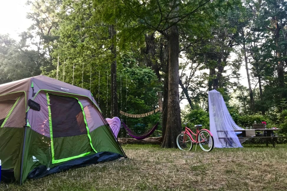 How to Plan a Ginnie Springs Camping Trip in 2019 | Angie Away
