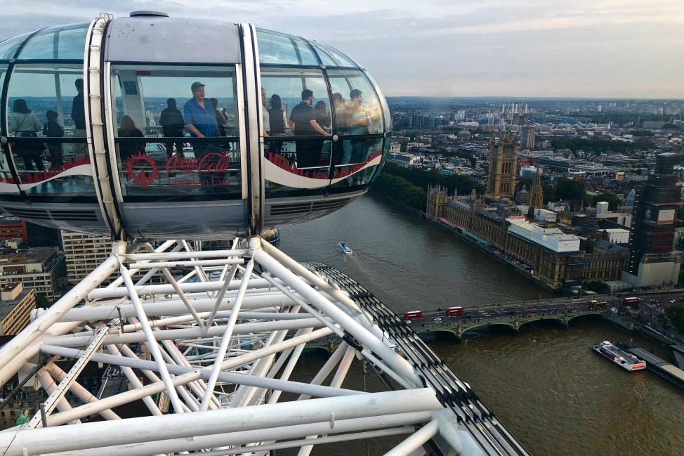 Adventure in London - The London Eye - Angie Away