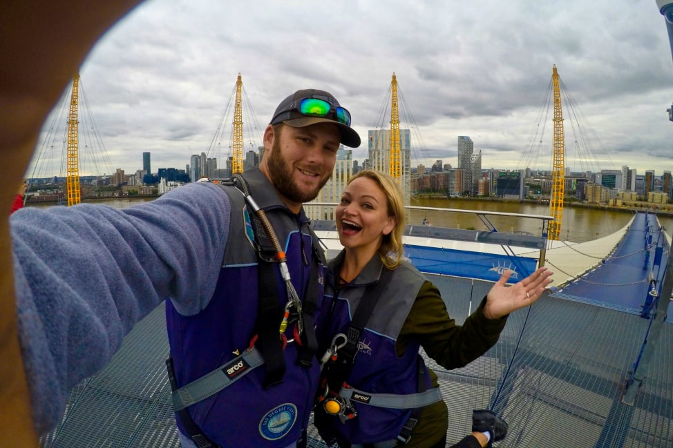 Adventure in London - Up at the O2
