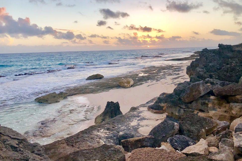 Long Island Bahamas sunrise